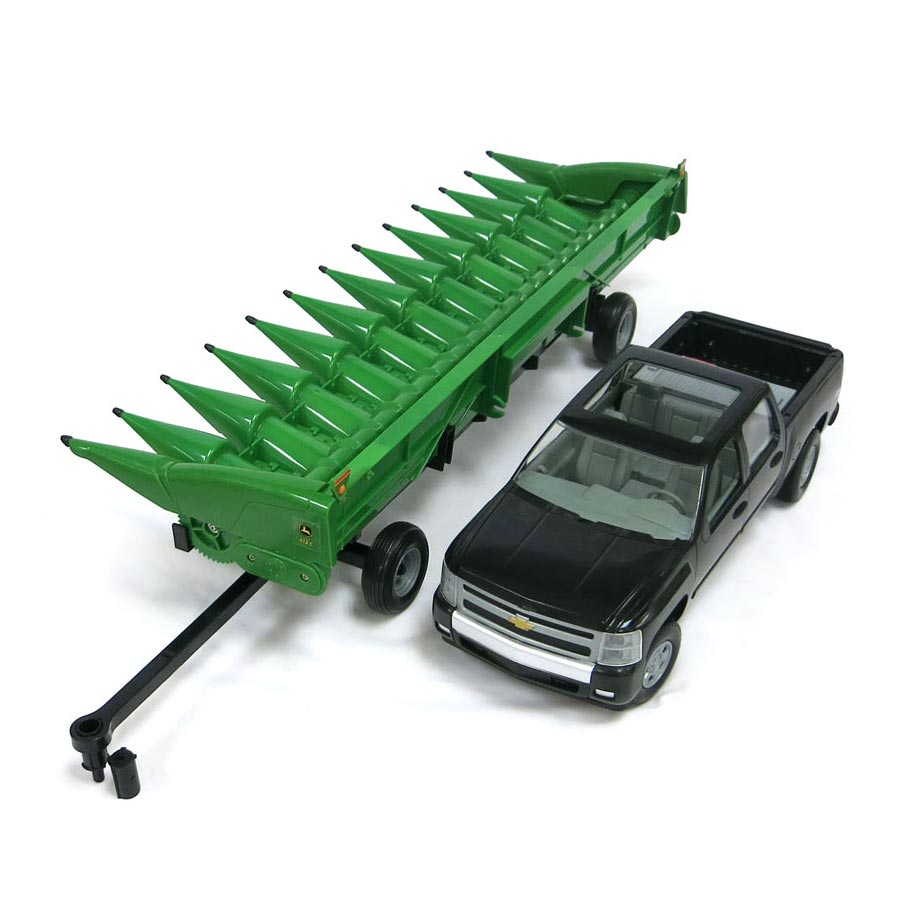 1 16 John Deere Corn Head For S670 Chevy Pickup Toy Truck Ertl Big Farm 46298 Ebay